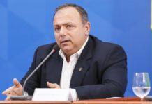 Eduardo Pazuello. Foto: José Dias/PR