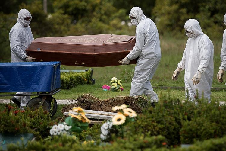 Brasil teve um dos maiores aumentos de casos de covid-19. Foto: Amazônia Real via Fotos Públicas