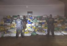 DOF apreende 9,4 toneladas de drogas. Foto: Divulgação