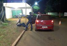 Guarda Minicipal prende suspeito de matar secretário em Dourados. Foto: Reprodução