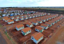 Casas populares. Foto: PMNA/Reprodução