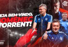 Domènec Torrent é o novo técnico do Flamengo. Foto: Divulgação