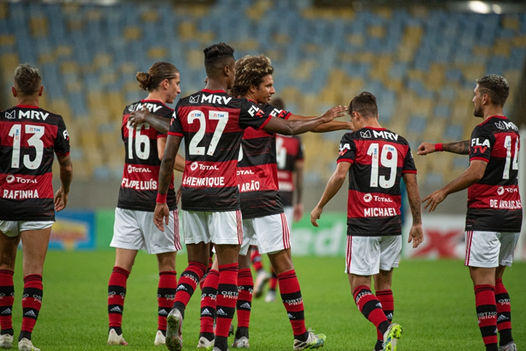 Flamengo. Foto: Alexandre Vidal/Flamengo