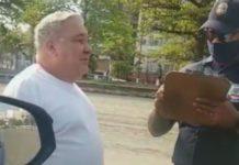 Guarda Civil foi humilhado por desembargador durante fiscalização. Foto: Reprodução