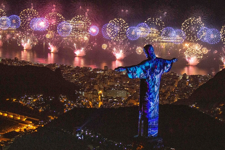 Réveillon no Rio de Janeiro. Foto: Fernando Maia via Fotos Públicas