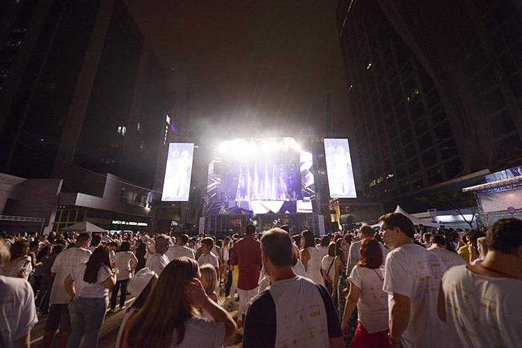 Festa de Réveillon da avenida Paulista. Foto: Eduardo Ogata/Secom