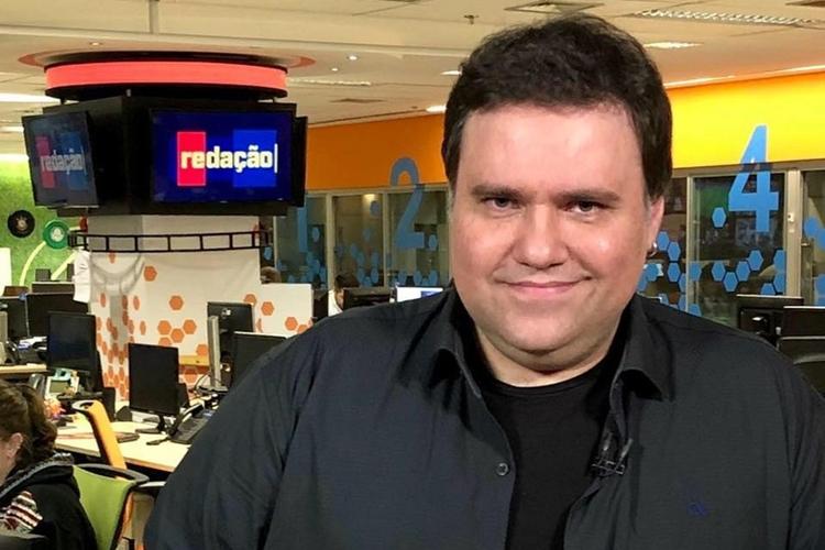 Rodrigo Rodrigues, apresentador do SporTV. Foto: Divulgação