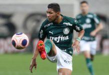 O jogador Rony, do Palmeiras. Foto: Cesar Greco/Agência Palmeiras