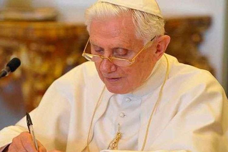 Bento XVI. Foto: Vatican Media/ACI Prensa/Reprodução
