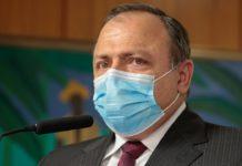 Ministro interino da Saúde, Eduardo Pazuello. Foto: Carolina Antunes/PR