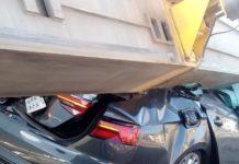 Pá eólica em carreta esmaga carro e deixa dois mortos no Ceará. Foto: Arquivo pessoal/Reprodução