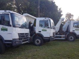 Caminhões vão atender o setor produtivo da Agricultura Familiar. Foto: Ricardo Minella/SES/Divulgação