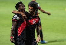 Atlético-GO vence o Flamengo pelo Brasileirão 2020. Foto: Heber Gomes/Atlétigo-GO