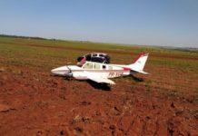 Avião com cocaína é apreendido em Ivinhema (MS). Foto: Jornal da Nova/Reprodução