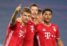 Bayern de Munique vence o Lyon pela Champions. Foto: Reprodução/Twitter/ChampionsLeague