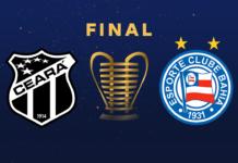 Ceará e Bahia fazem final da Copa do Nordeste. Foto: Reprodução