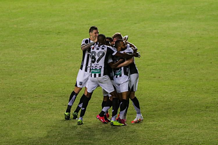 Ceará vence o Bahia por 3 a 1 pela Copa do Nordeste. Foto: Site oficial do Ceará