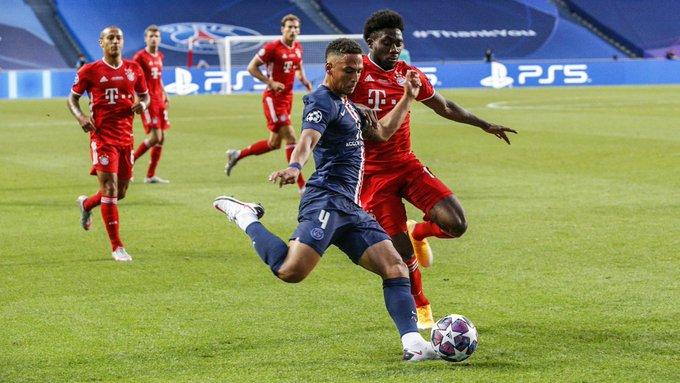 Bayern de Munique e PSG. Foto: Reprodução/Twitter/PSG_inside