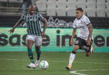 Corinthians e Coritiba pelo Brasileirão. Foto: Reprodução/Twitter/Coritiba