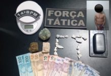 Homem foi preso em Deodápolis. Foto: Divulgação