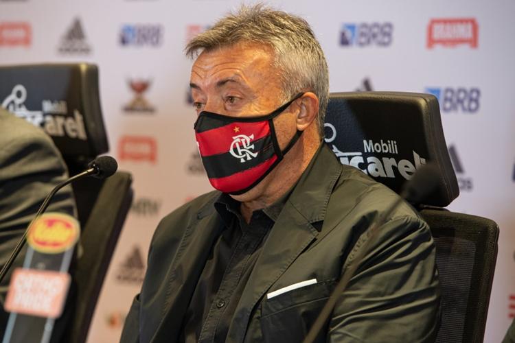 Domenèc Torrent. Foto: Alexandre Vidal/Flamengo
