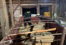 Carreta com mais de 17 toneladas de maconha foi apreendida pelo DOF em Caarapó (MS). Foto: Divulgação