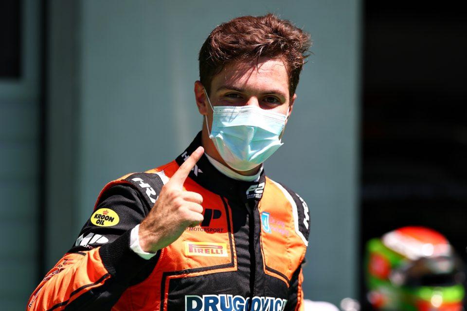 Felipe Drugovich. Foto: Reprodução/Twitter/FIA_F2
