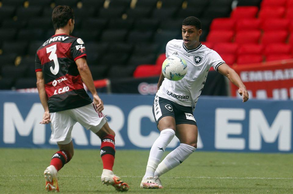 Flamengo e Botafogo ficam no empate pelo Brasileirão. Foto: Vitor Silva/Botafogo
