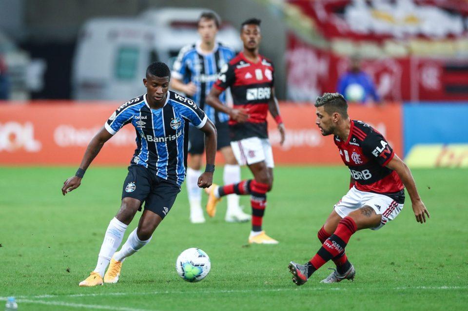 Flamengo e Grêmio ficaram no empate. Foto: Lucas Uebel/Grêmio