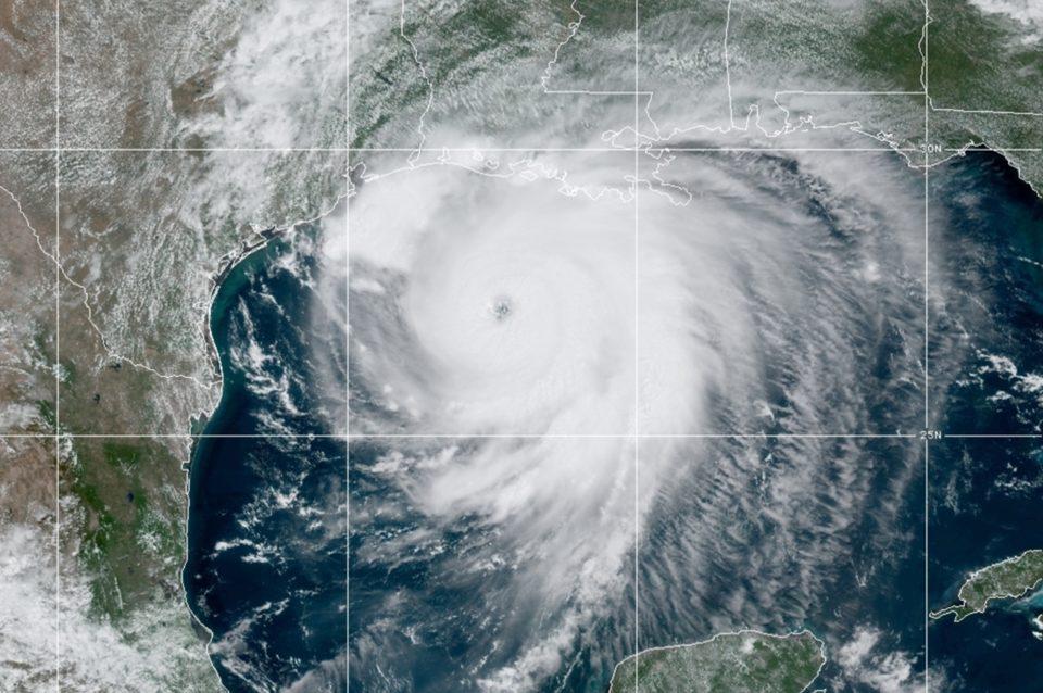 Furacão Laura. Foto: NOAA/Reprodução