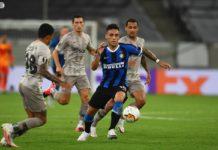 Inter de Milão vence o Shakhtar Donetsk pela Liga Europa. Foto: Reprodução/Twitter/Inter