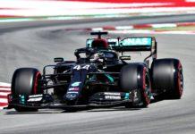 Lewis Hamilton. Foto: Reprodução/Twitter/MercedesAMGF1