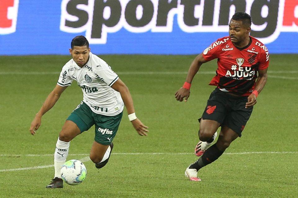 Palmeiras vence o Athletico-PR. Foto: Cesar Greco/Agência Palmeiras