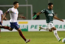 Palmeiras vence o Bahia. Foto: Cesar Greco/Palmeiras