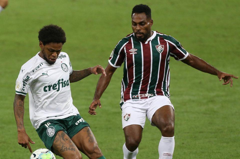 Fluminense e Palmeiras empataram pelo Brasileirão 2020. Foto: Cesar Greco/Agência Palmeiras