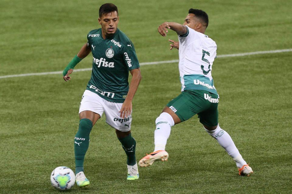 Palmeiras e Goiás ficam no empate pelo Brasileirão 2020. Foto: Cesar Greco/Agência Palmeiras