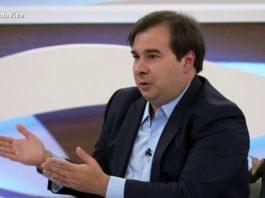 Rodrigo Maia, no Roda Viva. Foto: Reprodução