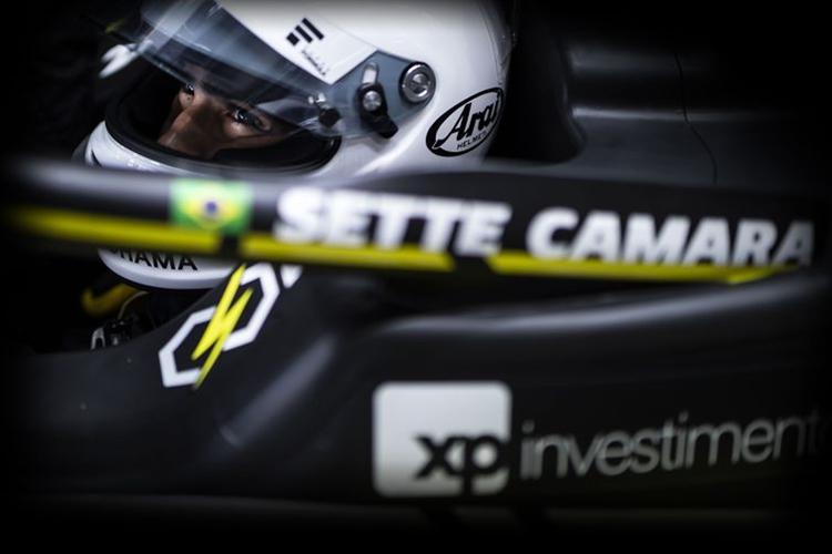 O piloto Sergio Sette Camara Filho. Foto: Sho Tamura/Red Bull Content Pool