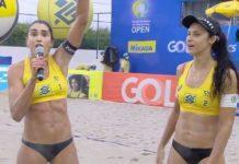 """Carol Solberg grita """"Fora, Bolsonaro"""" em entrevista ao vivo. Foto: Reprodução"""