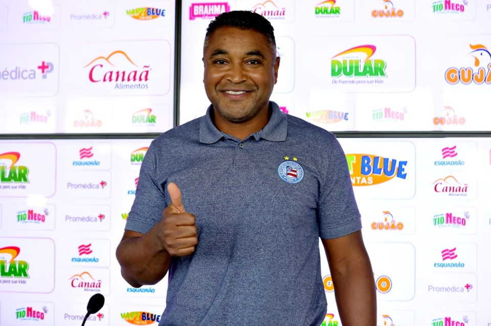Roger Machado. Foto: Felipe Oliveira/ECBahia