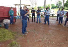 Zootecnista Roberto Sanches Nakayama durante o evento. Foto: Divulgação