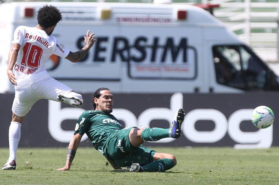 Palmeiras e Bragantino pelo Campeonato Brasileiro. Foto: Cesar Greco/Agência Palmeiras