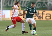 Palmeiras e Inter ficaram no empate. Foto: Cesar Greco/Agência Palmeiras