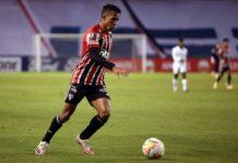 No Equador, LDU 4 x 2 São Paulo. Foto: Staff Images/CONMEBOL/Via site oficial do São Paulo