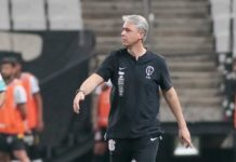 Corinthians demite o técnico Tiago Nunes. Foto: Rodrigo Coca/Agência Corinthians