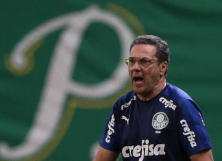 Vanderlei Luxemburgo. Foto: Cesar Greco/Agência Palmeiras