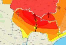 Umidade relativa do ar na casa dos 10%. Foto: Divulgação