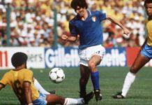 Paolo Rossi marcou três gols contra Brasil em 82. Foto: Reprodução