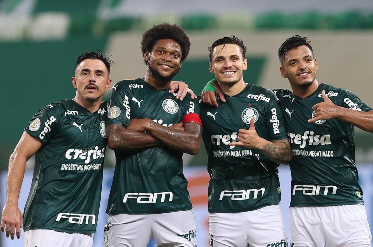 Palmeiras vence o Corinthians por 4 a 0. Foto: Cesar Greco/Agência Palmeiras