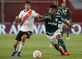 Palmeiras vence o River Plate pela Libertadores. Foto: Cesar Greco/Agência Palmeiras